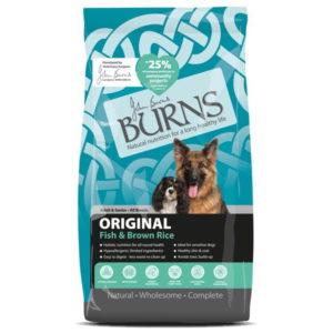 Burns Adult Fish & Brown Rice 12kg.