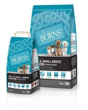 Burns Adult Toy & Small Breed Original Smaller Kibble 2kg