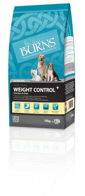 Burns Weight Control Chicken & Oats Adult Dog Food Petworld Ireland