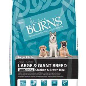 Burns Large Breed – Chicken & Brown Rice 12kg