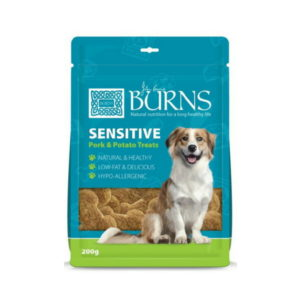 burns sensitive pork potato treats