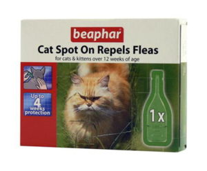 Beaphar Cat Spot On - 4 Week