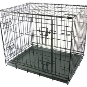 Dogit 2 Door Black Wire crate Small 61cm