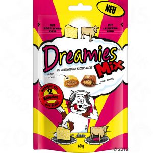 Dreamies Cheese & Beef Cat Pouches