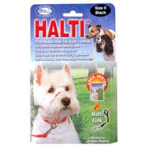 HALTI HEAD COLLAR BLACK SIZE 4