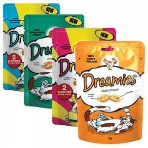 Whiskas Dreamies Chicken and Duck Cat Pouches