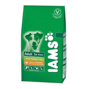 IAMS DOG ADULT SMALL & MEDIUM BREED 15KG