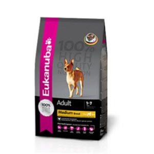 Eukanuba Adult Medium Breed dog food Petworld Ireland
