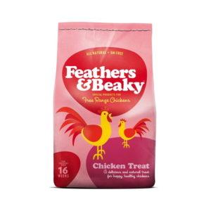 Feathers & Beaky Free Range Chicken Treats 5kg Petworld Ireland