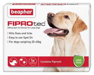 Beaphar FIPROtec Pipette For Large Dog
