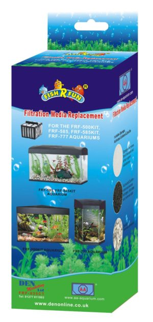 Fish R Fun, Spare media for FRF-500, 585, 777