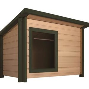 Eco Choice Dog Kennel with Flat Roof XL