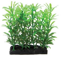 """plastic plant and base 4"""""""