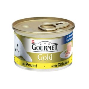 Gourmet Gold cat food with chicken
