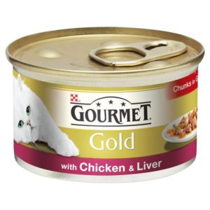 Gourmet Gold with chicken and liver
