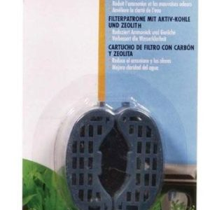 filter cartridge with carbon and zeolite