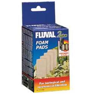 HG FOAM INSERT (4PK) FLUVAL 2 PLUS