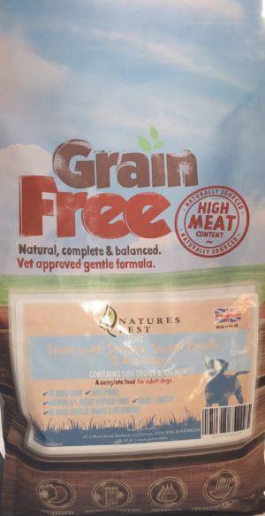 Grain Free Trout With Salmon, Sweet Potato & Asparagus Light 2kg