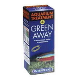 INTERPET NO.4 - AQUARIUM TREATMENT GREEN AWAY