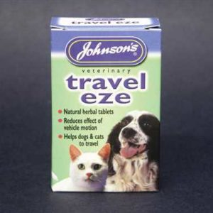 JOHNSONS TRAVEL CAPSULES FOR DOGS