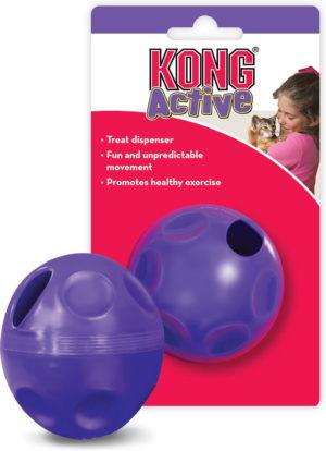 kong active cat treat ball