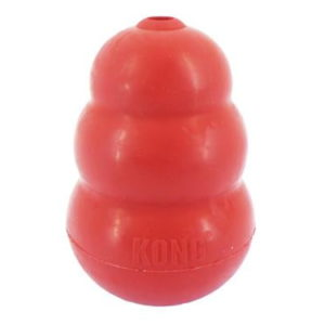 kong classic dog toy red