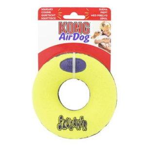 kong doughnut dog toy