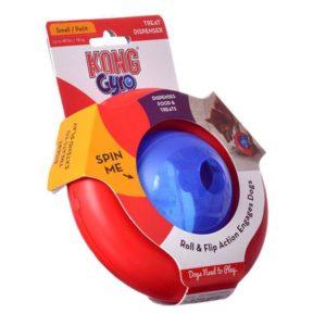 kong gyro spinning dog toy