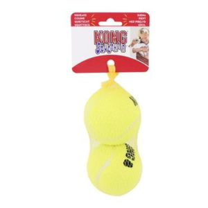 kong large 2pack tennis balls for dogs