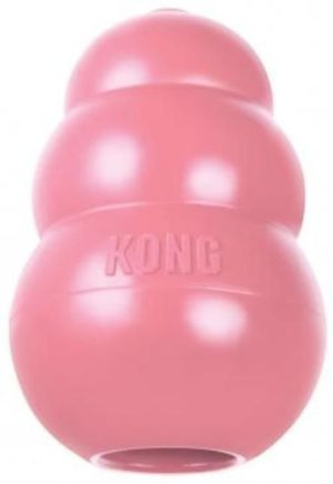 kong pink puppy treat toy