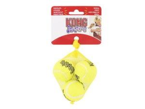 kong squeak air 3 pack small dog balls