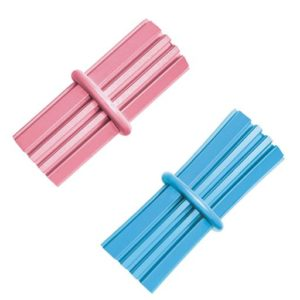 kong puppy teething sticks pink and blue