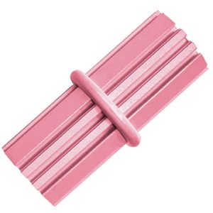 kong puppy teething stick pink