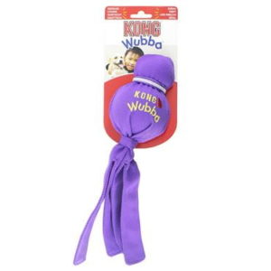 kong wubba squeeky puppy toy