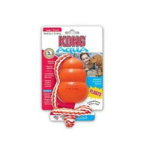 kong aqua kong toy with rope