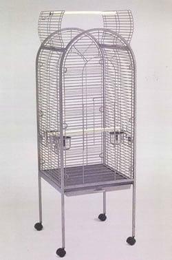 Silver Antique Parrot Cage