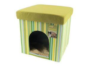 Comfy Cat Cube Lively Lime 38Cm