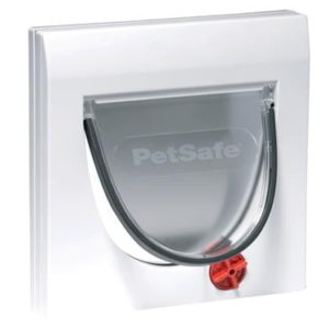 Staywell 4way Cat Flap White W/Tunnel