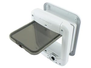 Cat Flap With Microchip