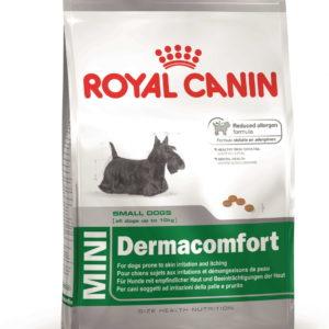 Royal Canin Mini Dermacomfort dog food Petworld Ireland