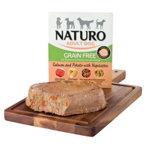 Naturo Grain Free Salmon & Potato with Vegetables 400g