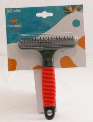ferplast pet rake short hair 5846