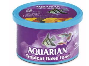 AQUARIAN TROPICAL FISH FOOD 50GM
