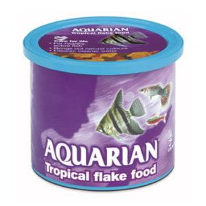 AQUARIAN TROPICAL FISH FOOD 200GM