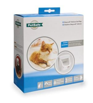 PETSAFE STAYWELL MAGNETIC CAT FLAP WHITE