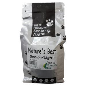 Natures Best Senior Light Dog Food - Gluten Free 2.5kg