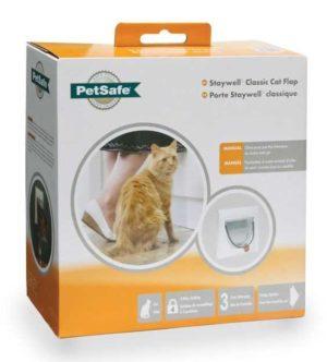 PETSAFE STAYWELL CLASSIC CAT FLAP WHITE