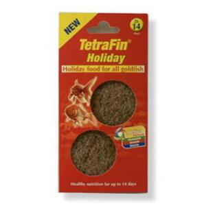 TETRAFIN GOLDFISH 2WK HOLIDAY FOOD 24GM