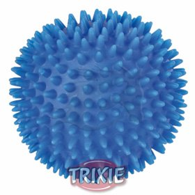 trixie hedgehog soft rubber ball for dogs