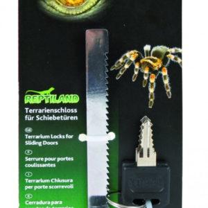 Terrarium lock for sliding doors with keys by Trixie Petworld Ireland